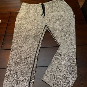 Lululemon lightweight tracker pants.